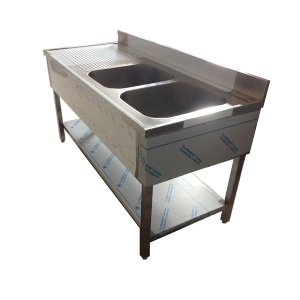 bac inox cuisine interesting plonge inox avec grand bac spciale batterie de cuisine with bac. Black Bedroom Furniture Sets. Home Design Ideas